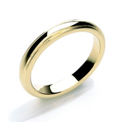 Traditional Gold Ring - Wedding Band